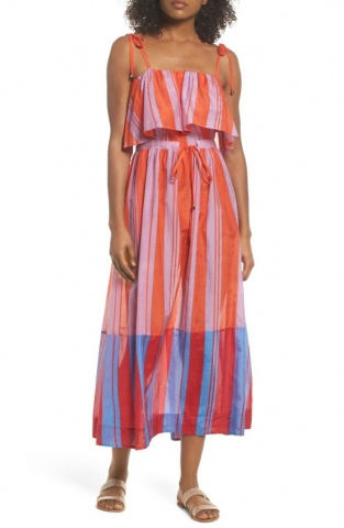 Billowy silk-kissed maxi from Diane Von Furstenberg