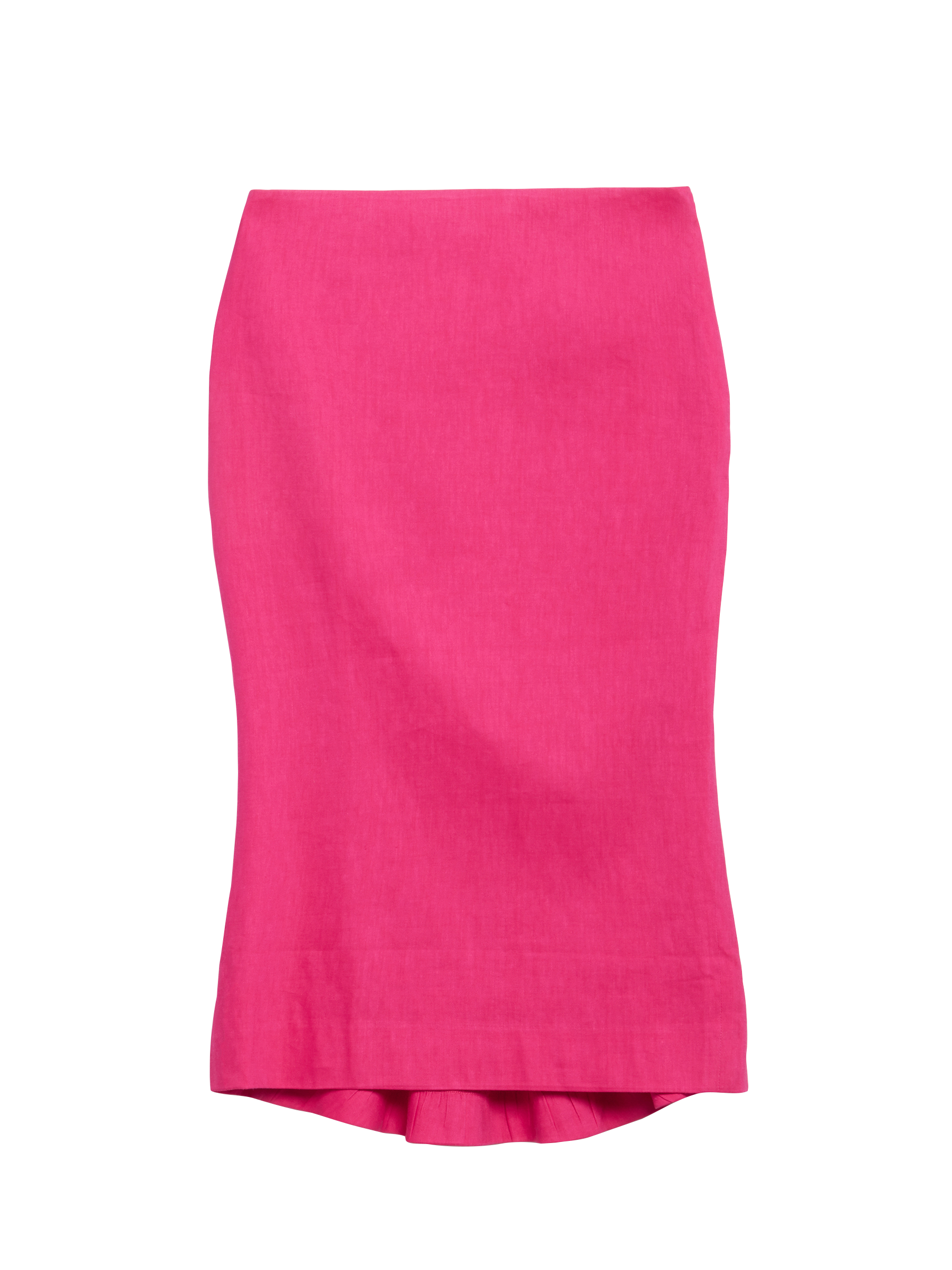 Add color and sculptural flair to your look with this skirt from Carlisle.