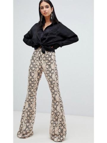 Snake Skin Pants